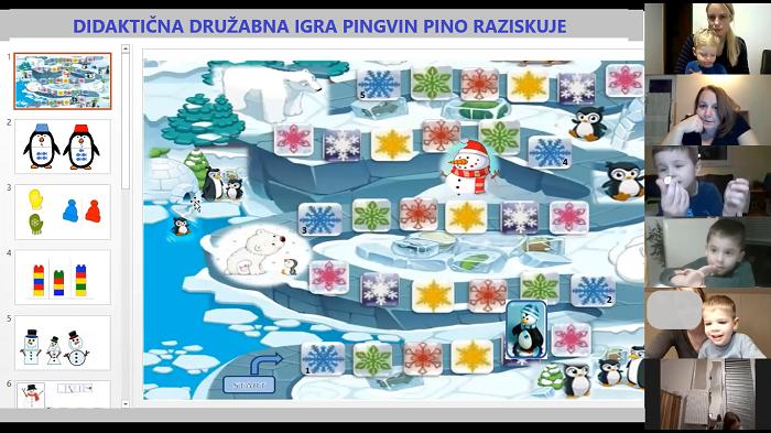 Didaktična družabna igra (Zelena skupina)